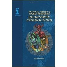 Fantasy Artist's Pocket Reference, Incredible Characters: Draw, Paint and Create 100 Beings of Myth and Imagination (fantasy Artists Pocket Ref)
