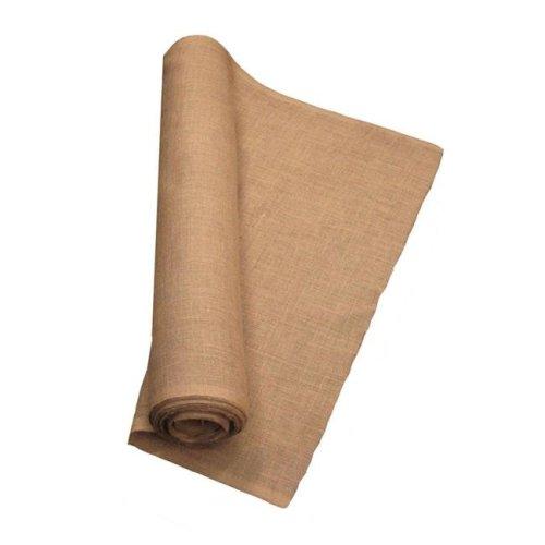 LA Linen 40IN-Burlap-40YardRoll 40 Yards Burlap Fabric, Natural - 40 in.