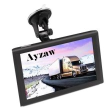 SAT NAV 9 inch Capacitive Car Truck Navigation with Touch Screen include Free UK AU and EU Maps,Lane Guidance