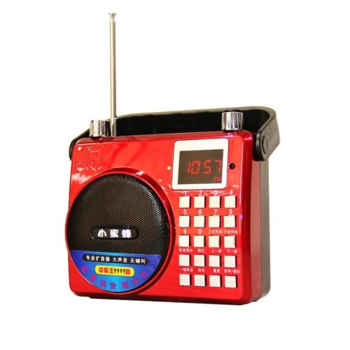 Portable Voice Amplifier w/ Subwoofer Loud sound recorder Microphone