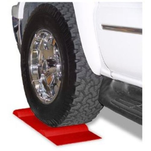 MAXSA Innovations 37359 Park Right Parking Mat Red