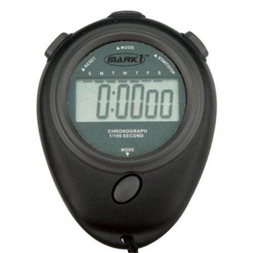 Sport Supply Group 1266702 Mark 1 Economy Stopwatch - Black