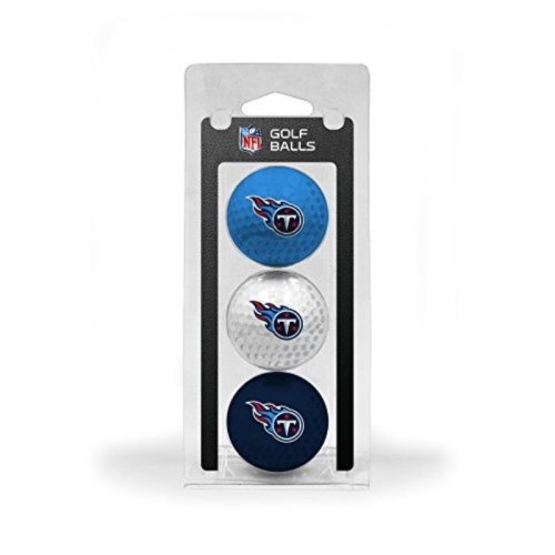 NFL Tennessee Titans 3 Golf Ball Pack