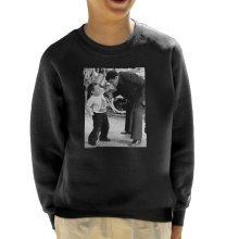 Muhammad Ali And Kenny Baker Fight Scene At Variety Show 1979 Kid's Sweatshirt