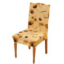 Home&Office Antifouling Chair Cover Hotel Chair Set Elastic Chair Decor-A13