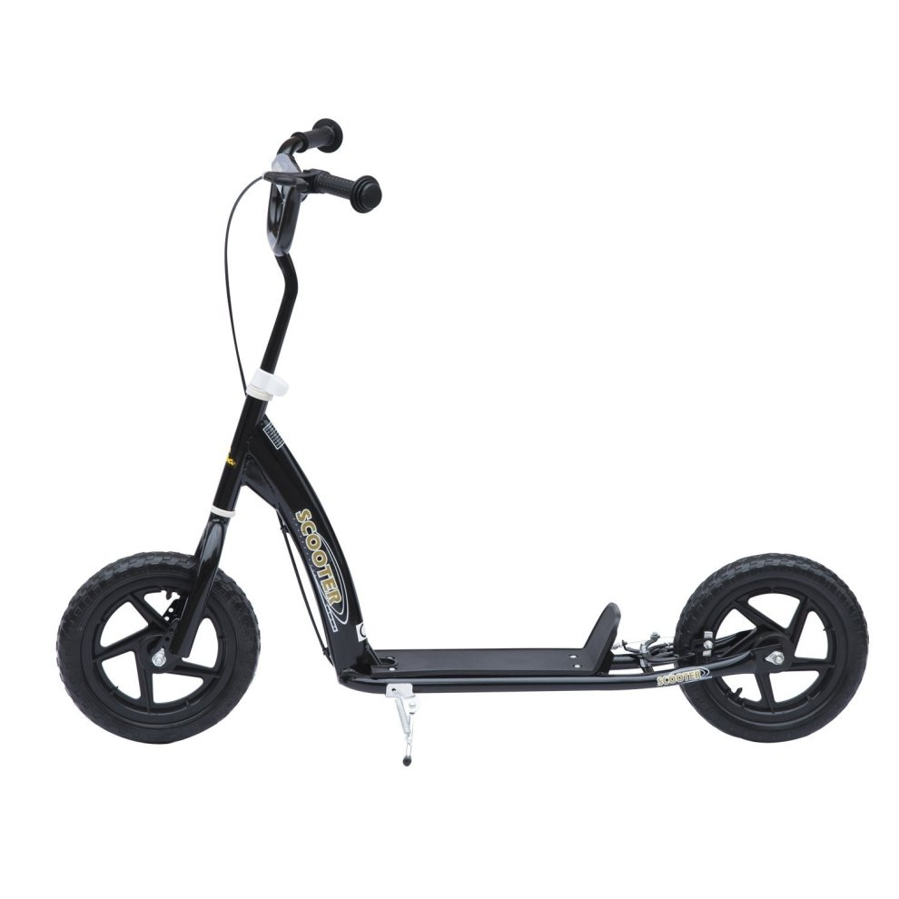 Homcom Kids Ride On Retro Scooter With Brakes On Onbuy