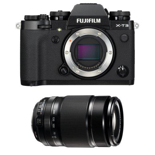 FUJI X-T3 Black + XF 55-200MM F3.5-4.8 R LM OIS Black