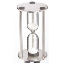 Stainless Steel Traditional 3 Minute Timer - x Egg Master Class Hourglass 4 8 -  x timer egg master class 3 hourglass 4 8 cm 3minute 15 stainless