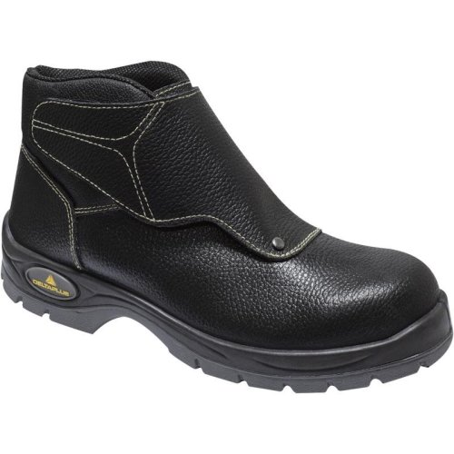 Delta Plus COBRA Safety Welder Work Boots Black (Sizes 7-12)
