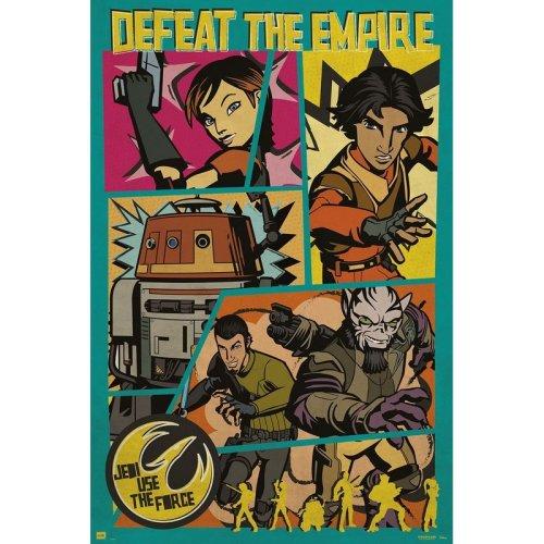 Poster Star Wars Rebel pop