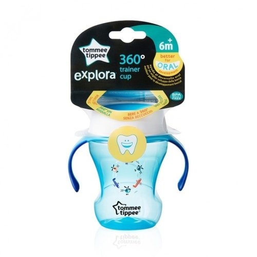 Tommee Tippee 360 Trainer Cup Boy 6m+