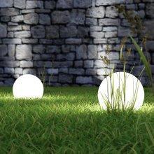 Homcom Glowing Ball Lamp | 16 Colour LED Globe Light