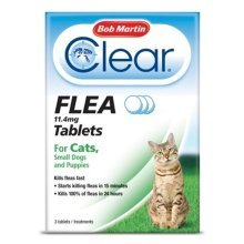 Bob Martin Flea Tablets for Cats and Small Dog Under 11 Kg