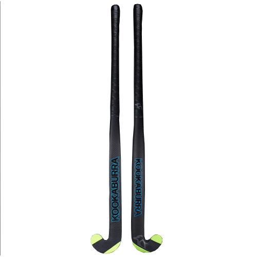 Kookaburra 2018 Team Phoenix L-Bow Extreme 2.0 Field Hockey Stick Black/Green