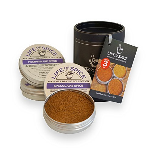 Life of Spice 3pc Mini Baking Collection | Baking Spice Gift Set