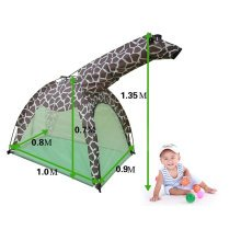 Cute Giraffe Kids Play Tents Indoor/Outdoor Play Tent (Under 6 Years Old)