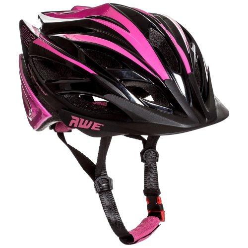 AWE AWEBlade FREE 5 YEAR CRASH REPLACEMENT* In Mould Junior Girls Cycling Helmet 52-56cm Pink/Black