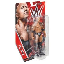 WWE The Rock Series 53 Mattel Wrestling Figure New Sealed
