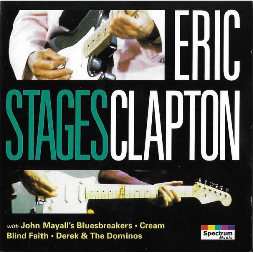 Eric Clapton, Stages [Audio Cassette] Various