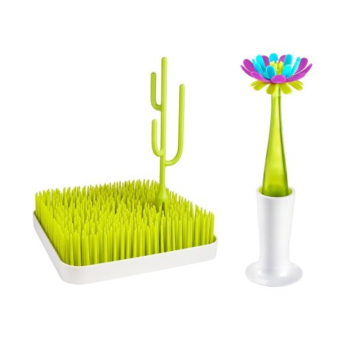 Boon Kitchen Accessories Bundle Forb Bottle Brush And Small Grass - 2 Items Supplied