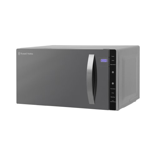 Russell Hobbs RHFM2363S 23L Flatbed Digital 800w Solo Microwave Silver
