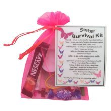 Sister Survival Kit | Novelty Birthday/Christmas Gift for Sister