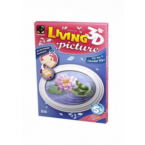 Elf956054 - Fantazer 3d Living Picture - Tender Lily