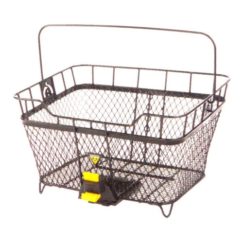 Topeak Unisex Adult MTX Rear Basket - Black, 40.5 x 24.1 x 33.5 cm/23 Litre