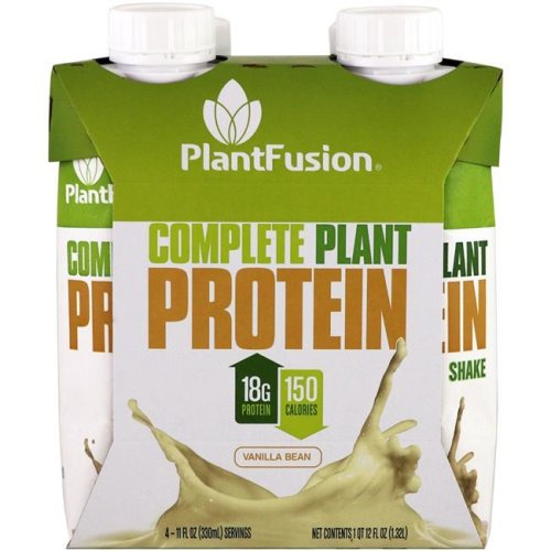Plantfusion KHFM00285574 Vanilla Protein Shake, Pack of 4
