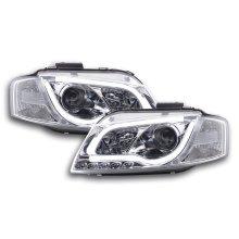 Daylight headlight  Set Audi A3 type 8P/8PA Year 03-08 chrome