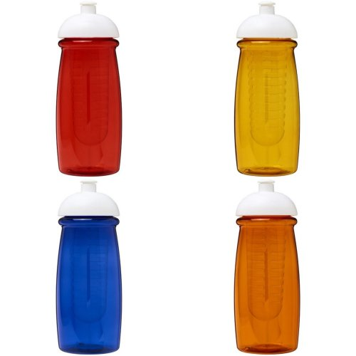 H2O Pulse 600ml Dome Lid Sport Bottle And Infuser