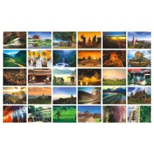 Beautiful Travel Scenery 30 PCS Artistic Retro Postcards-Chiang Mai