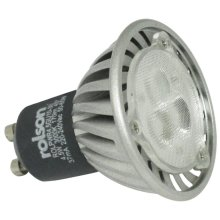 4.5w Gu10 Energy Saving 3000k Powerspot LED Light Bulb -  rolson 45w led gu10 spot down light bulb lamp high power 170lm warm white bnib