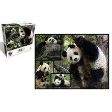 Pandas 1000 Piece Puzzle - WWF