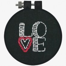 D72-74092 - Dimensions Embroidery - Love