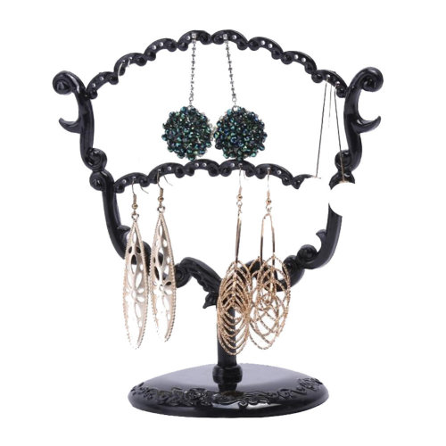 2 PC Jewelry Organizer Necklace Earring Bracelet Holder Display Stands By Random
