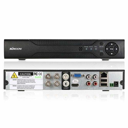 KKmoon 4CH Channel 1080N/720P AHD DVR NVR HDMI P2P Cloud Network Onvif  Digital Video Recorder Motion Detection, Email Alert, QR Code Scan Quick