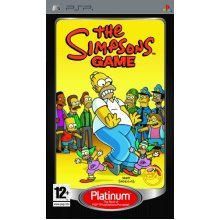 The Simpsons - The Simpsons Game - Platinum Edition (PSP)