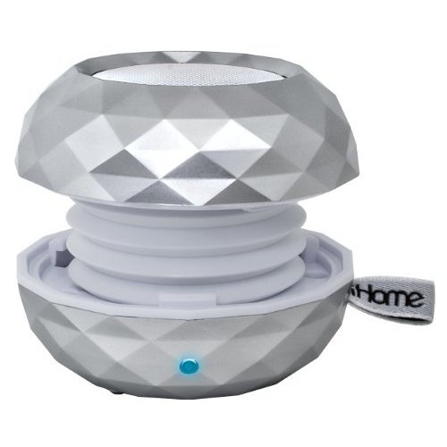 iHome iBT66SC Color Changing Bluetooth Rechargeable Mini Speaker System