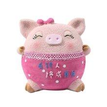 Lovely Cartton Pig Piggy Bank/Coins Tank