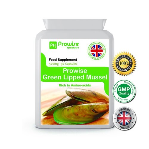 Prowise Green Lipped Mussel 90 Capsules 500mg UK Made