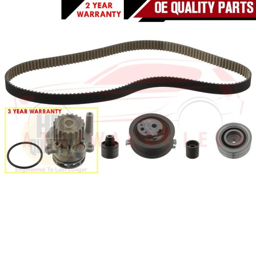 FOR AUDI A1 A3 SEAT ALTEA IBIZA TOLEDO 1.6 TDi TIMING CAM BELT WATER PUMP KIT