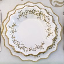 Imperial Gold Plates Card 27cm 8's