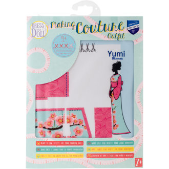 Dress Your Doll Making Couture Outfit Set-Yumi Blossom