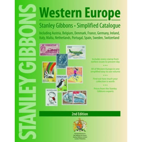 Western Europe Simplified Catalogue: Including Austria, Belgium, Denmark, France, Germany, Ireland, Italy, Malta, Netherlands, Spain, Sweden, Swit...