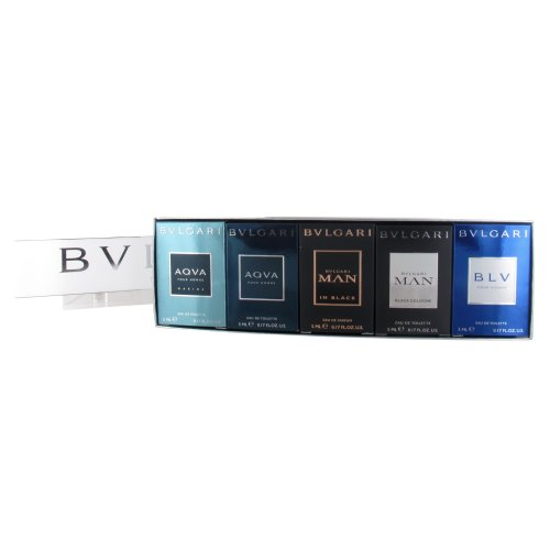 Bvlgari Mens 5ml Minature Gift Set