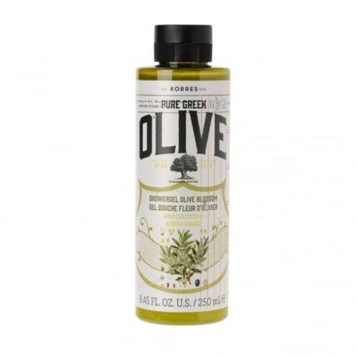 KORRES Pure Greek Olive Natural Olive Blossom Shower Gel, Vegan