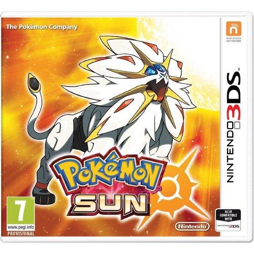 Pokemon Sun Nintendo 3DS Game