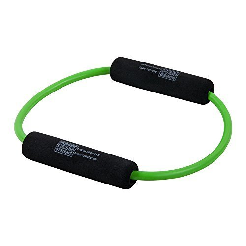 Power Systems Versa O Resistance Band Level Light Lime Green 10 Inches 84106