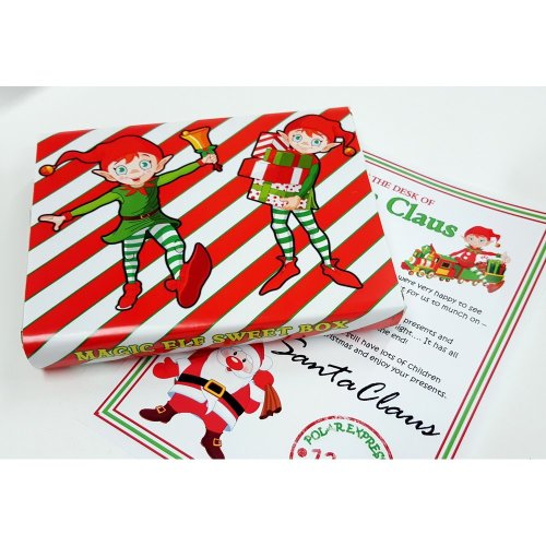 Magic Elf Sweet Box & Santa Letter Gift Set